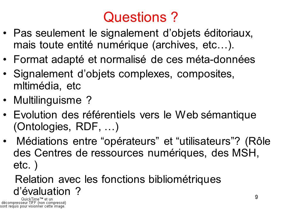 9 Questions .