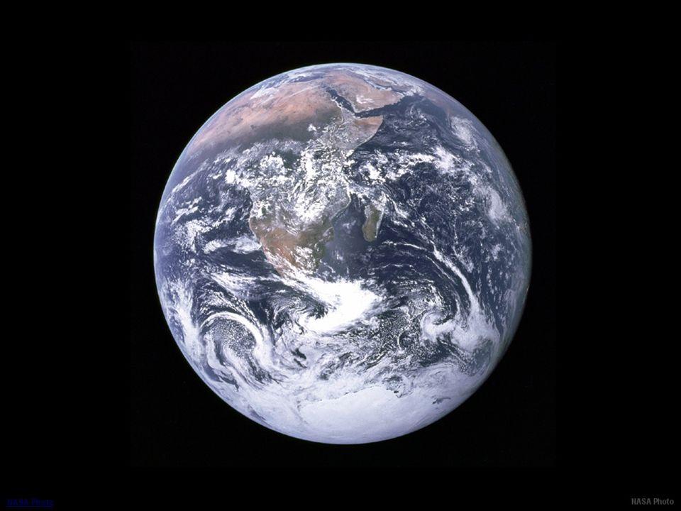 La terre vue de l'espace INDEX NASA Photo