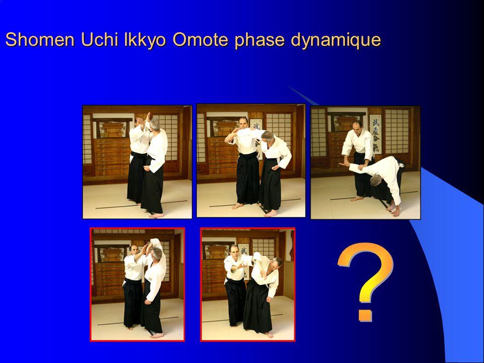 Shomen Uchi Ikkyo Omote phase dynamique