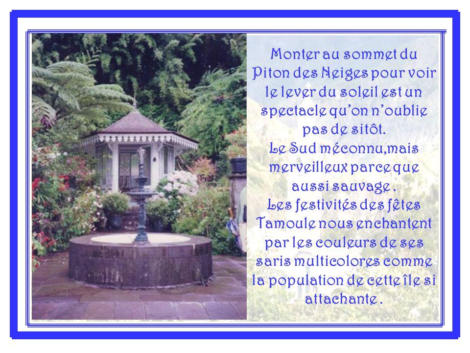 L'Île de la Réunion surnommée ''l'Île Intense'' est le paradis des marcheurs avec ses trois cirques – Salazie- Cilaos et Mafate, que l'on peut visiter