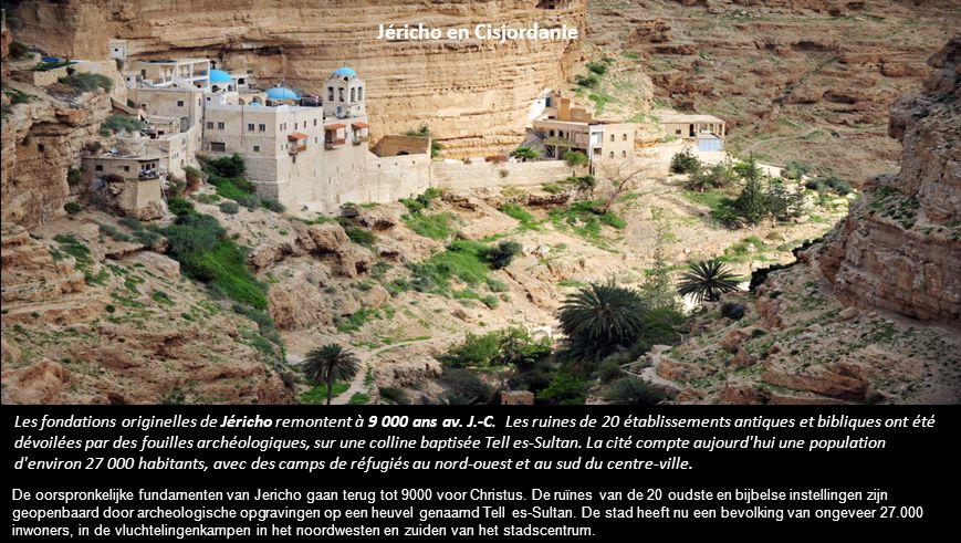 Les fondations originelles de Jéricho remontent à 9 000 ans av.