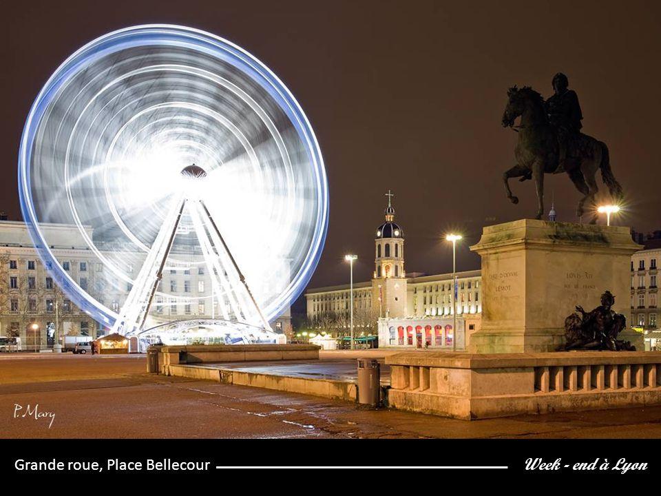 Week - end à Lyon Grande roue, Place Bellecour