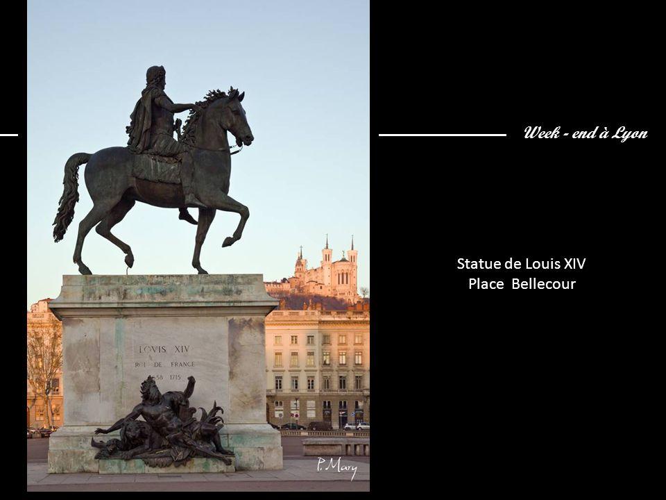 Week - end à Lyon Statue de Louis XIV Place Bellecour