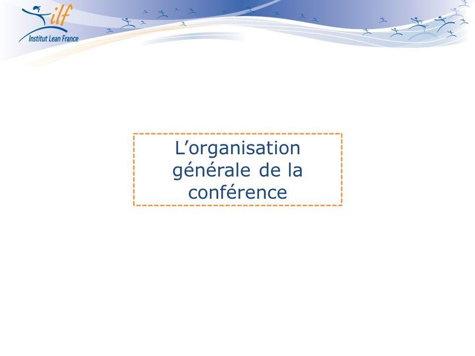 L'organisation générale de la conférence