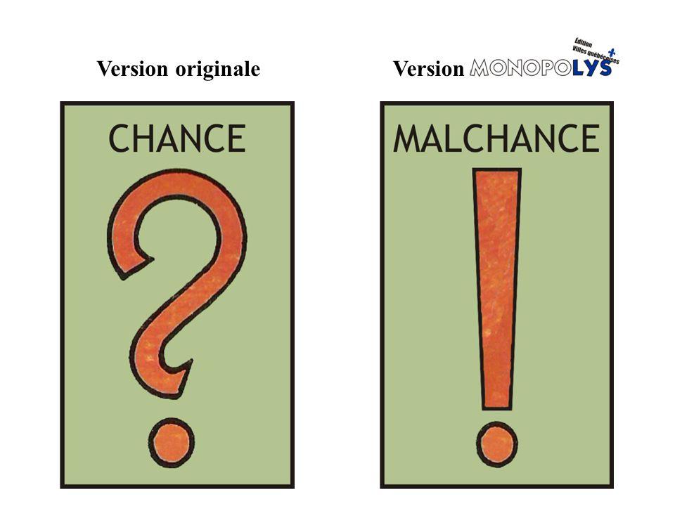 Version originale Version MONOPOLY