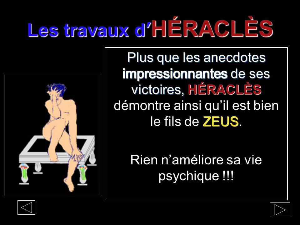 Les travaux d' HÉRACLÈS