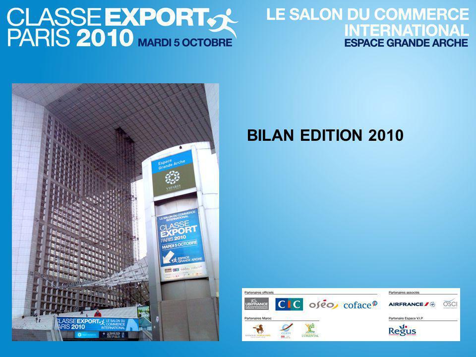 BILAN EDITION 2010