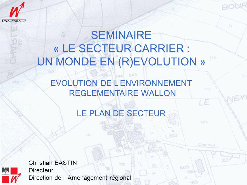 Du décret RESA (3 février 2005) au décret RESA bis (20 septembre 2007) La zone d'extraction (Art.