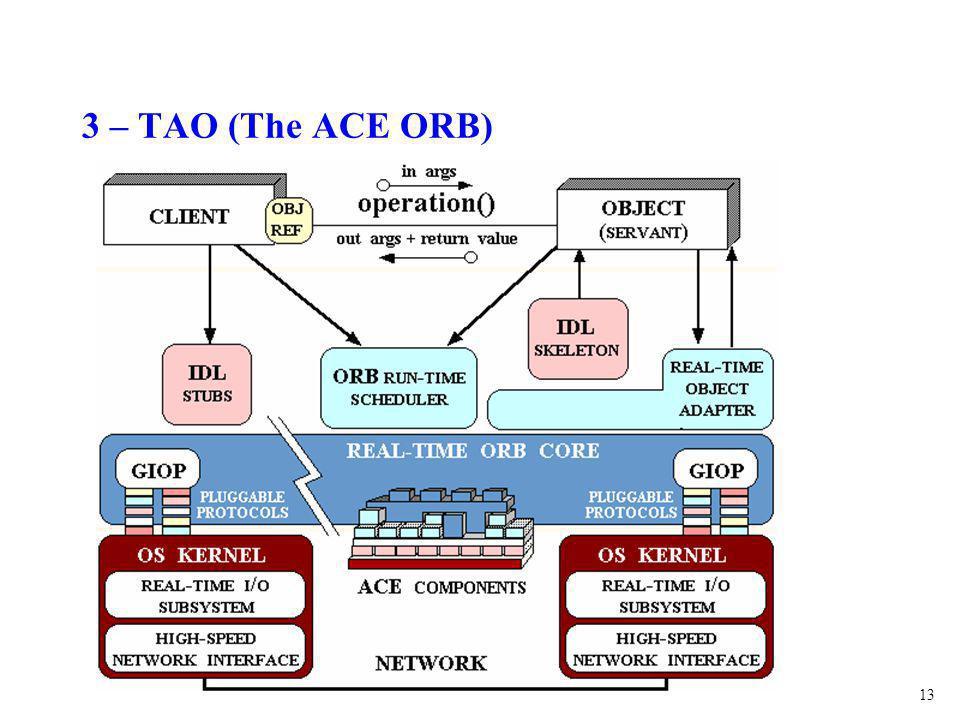 13 3 – TAO (The ACE ORB)
