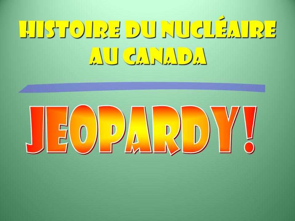 Histoire du nucléaire au Canada