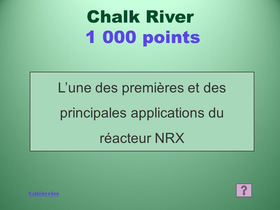 Catégories Qu'est-ce que le réacteur NRX (réacteur national de recherche expérimental).