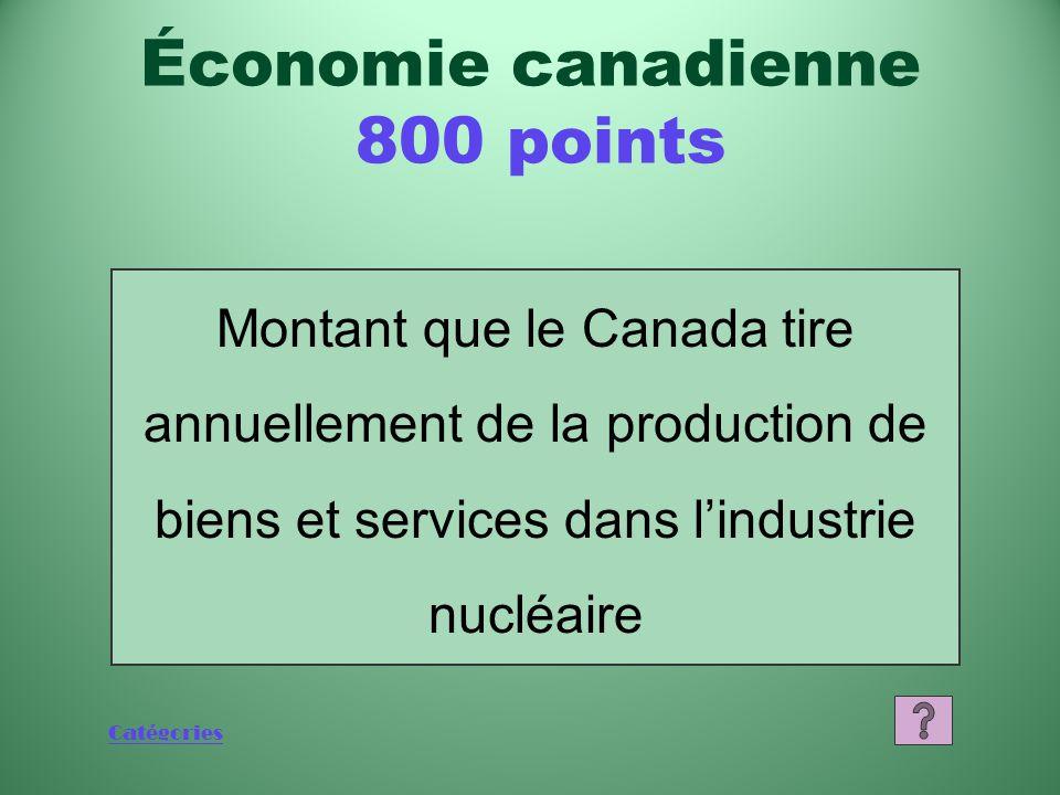 Catégories Qu'est-ce que la technologie d'irradiation gamma Économie canadienne 600 points
