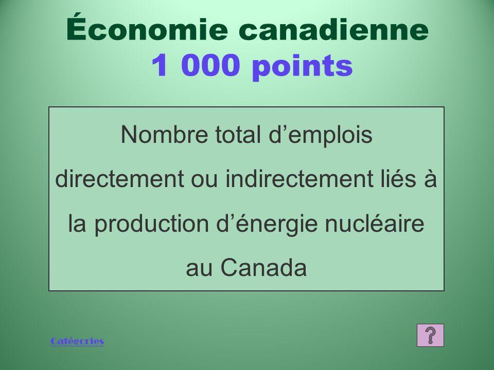 Catégories Qu'est-ce que 6,6 milliards de dollars Économie canadienne 800 points