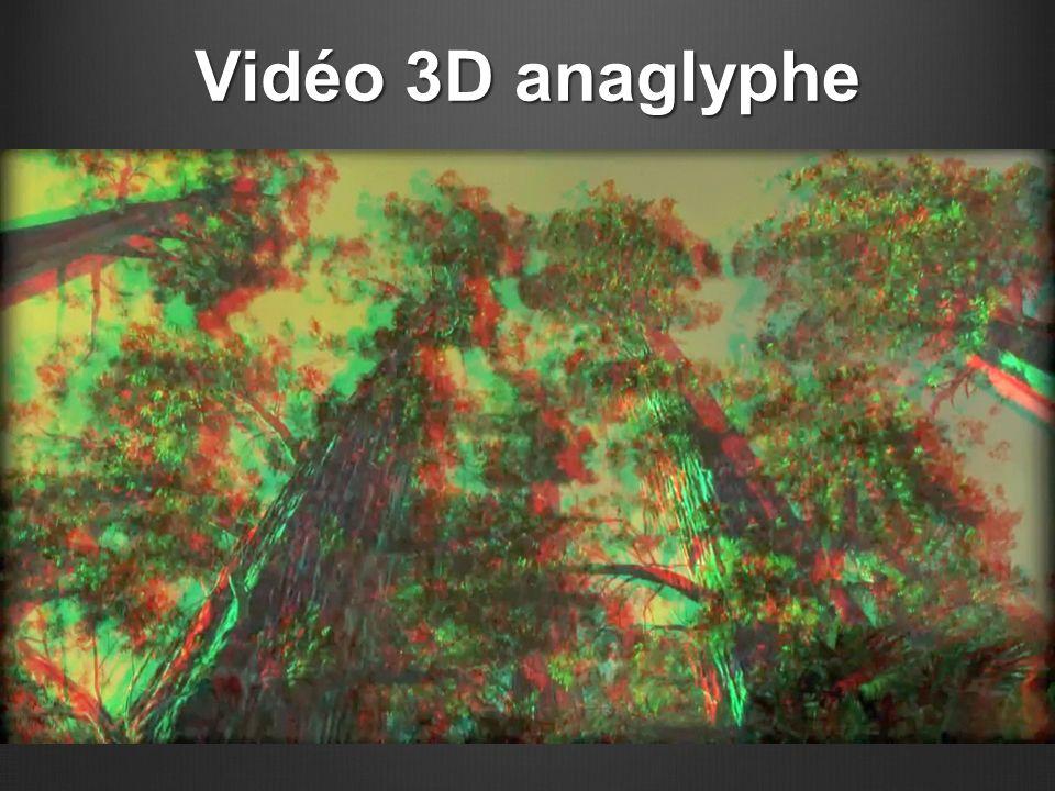 Vidéo 3D anaglyphe