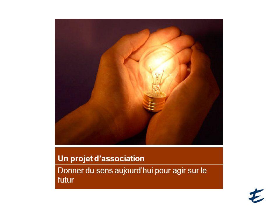 Un projet d'association Donner du sens aujourd'hui pour agir sur le futur