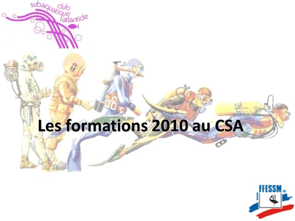 Les formations 2010 au CSA