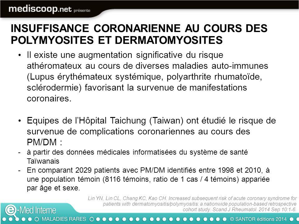 Il existe une augmentation significative du risque athéromateux au cours de diverses maladies auto-immunes (Lupus érythémateux systémique, polyarthrit