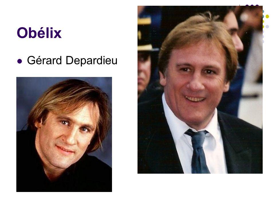 Obélix Gérard Depardieu
