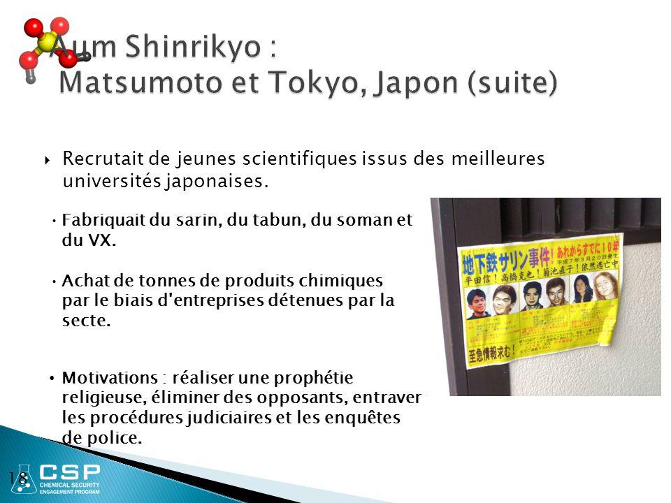  Recrutait de jeunes scientifiques issus des meilleures universités japonaises.