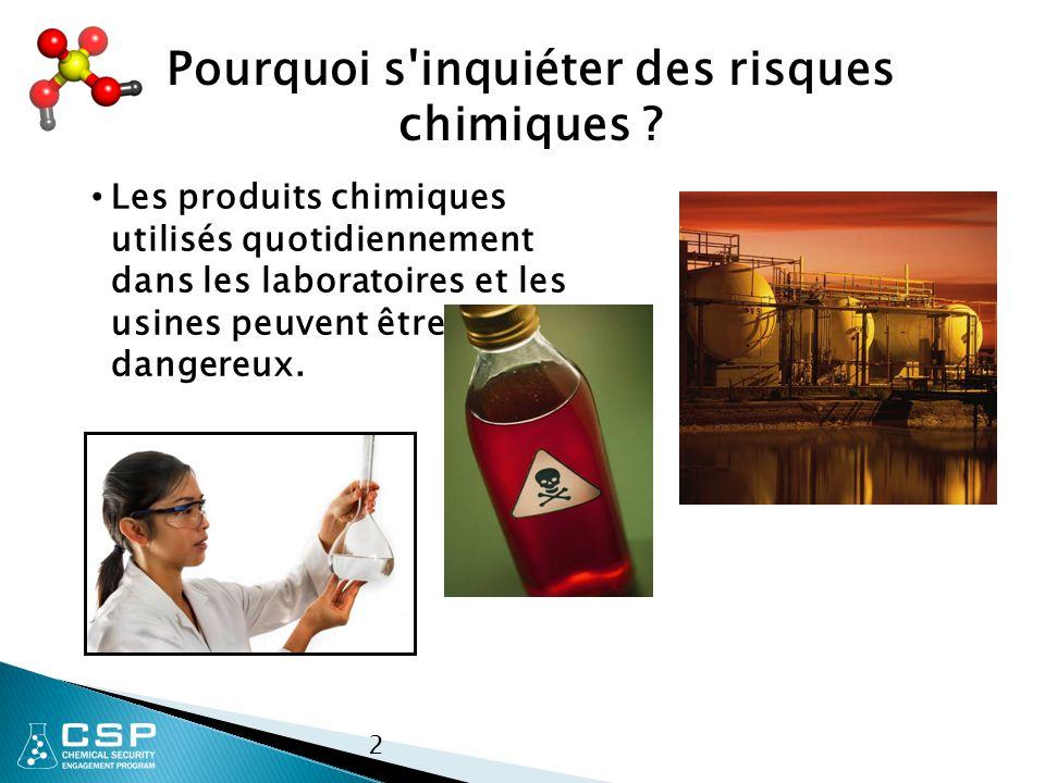 2 Pourquoi s inquiéter des risques chimiques .