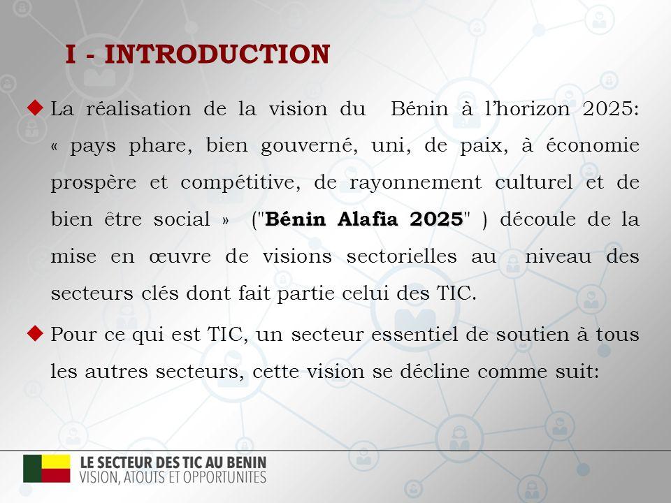 1.Cadre Juridique et Institutionnel 2. Infrastructures 3.