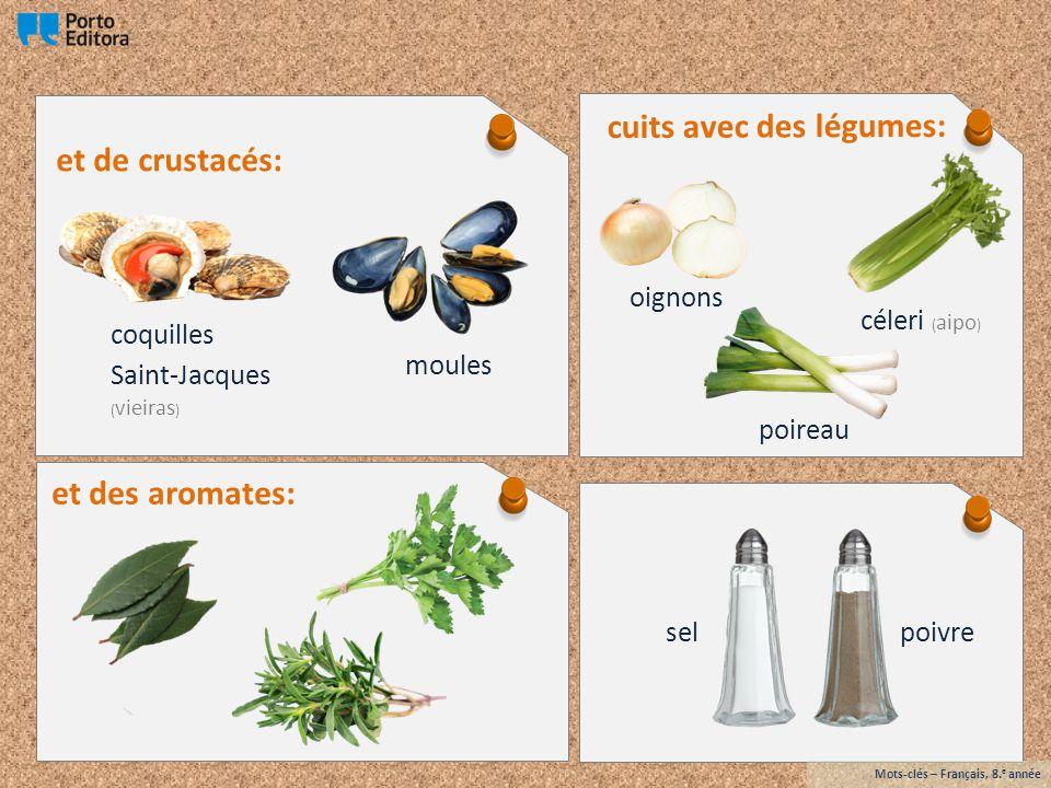 de la crème d'Isigny et du cidre ou du vin blanc sec La matelote est servie dans de petites marmites.
