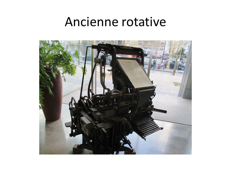 Ancienne rotative