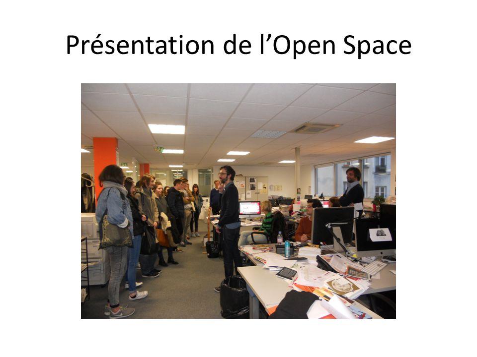 Présentation de l'Open Space