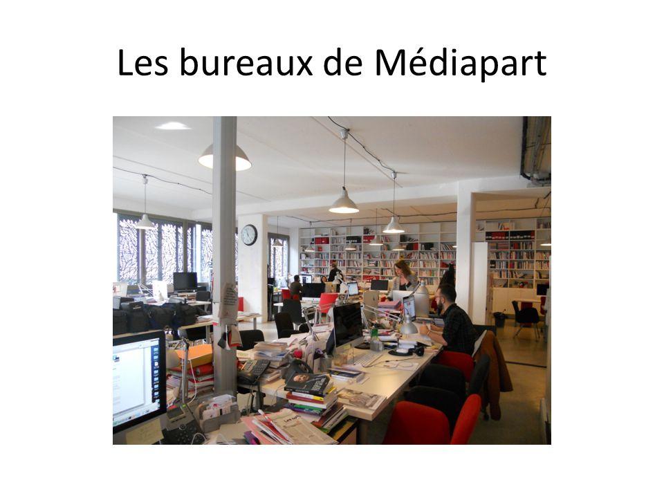 Les bureaux de Médiapart