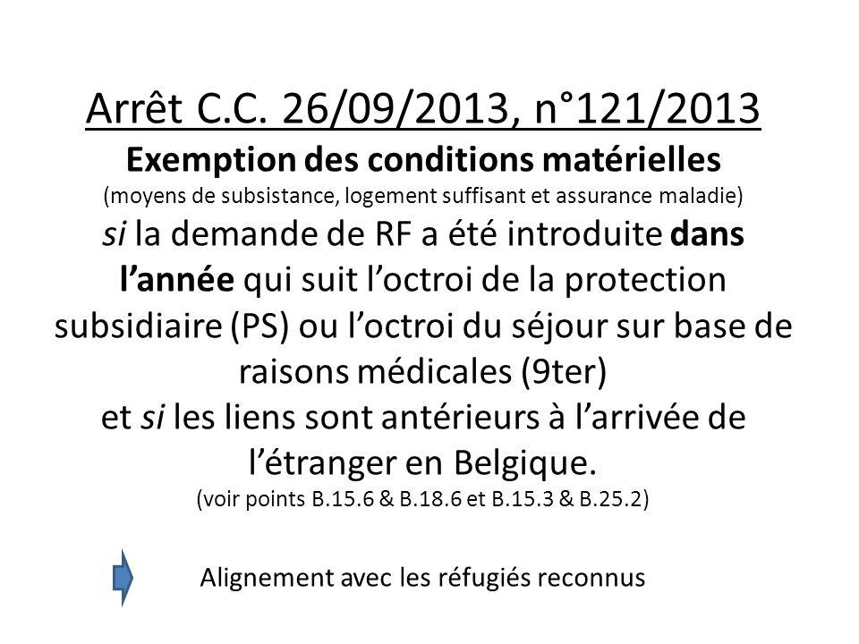 Arrêt C.C.