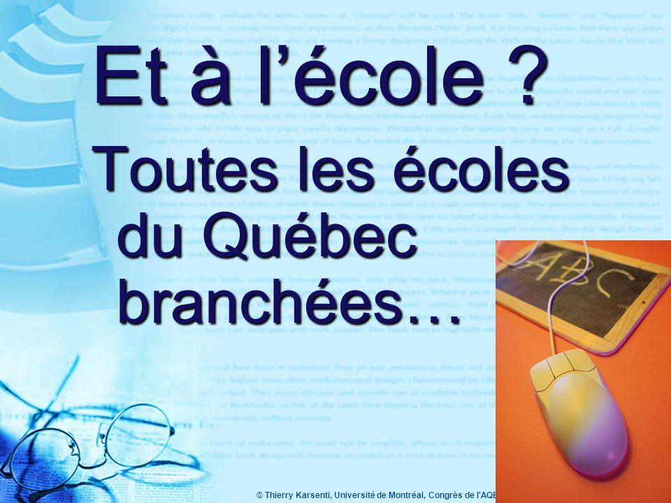 © Thierry Karsenti, Université de Montréal, Congrès de l AQETA 2005 15 www.ipsos- reid.com Global Monitor