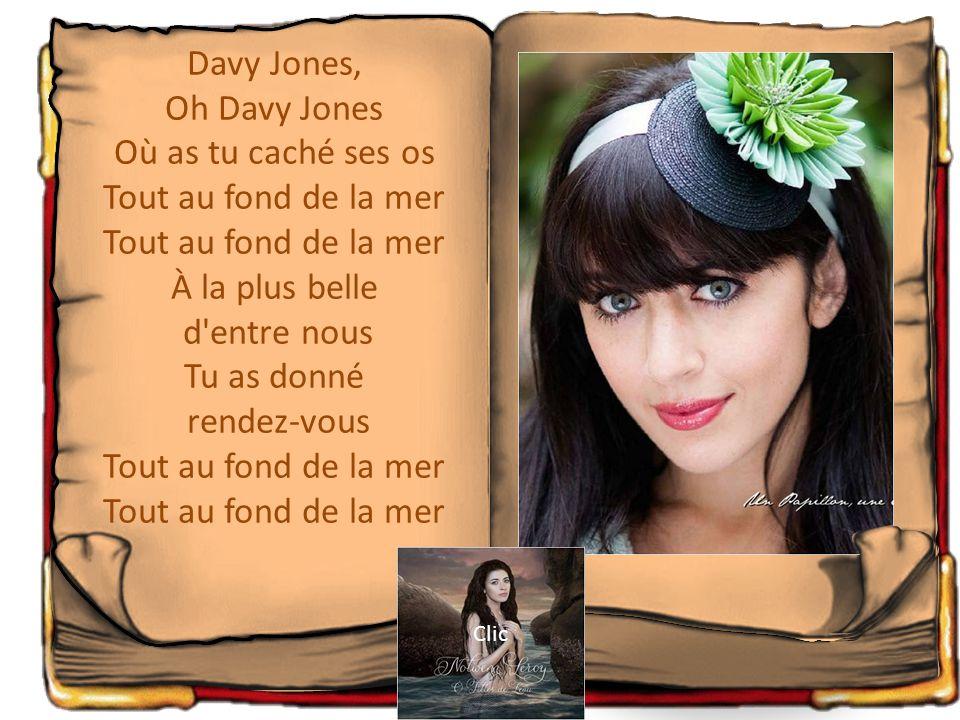 Clic sur L 'image ou le titre Davy Jones Sur mes lèvres A la vie a la mort