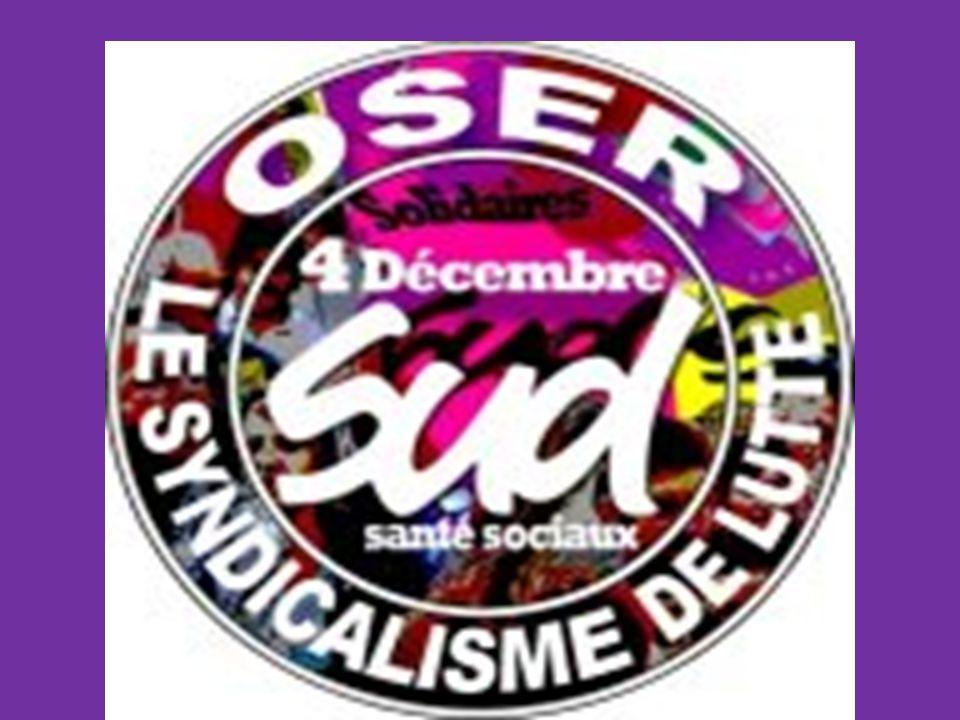Elections professionnelles 2014 Fonction Publique Hospitalière Fédération SUD santé sociaux Syndicat SUD CHU de Rouen