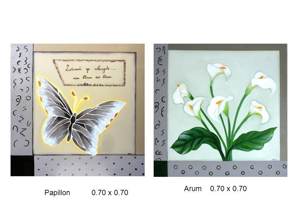 Papillon 0.70 x 0.70 Arum 0.70 x 0.70