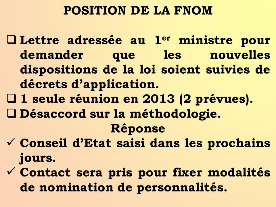 COMMISSION DE SUIVI  Nouvelles dispositions loi 2013-1168 du 18/12/2013 : - Décisions devront être motivées, - Civen passe sous autorité 1 er ministr