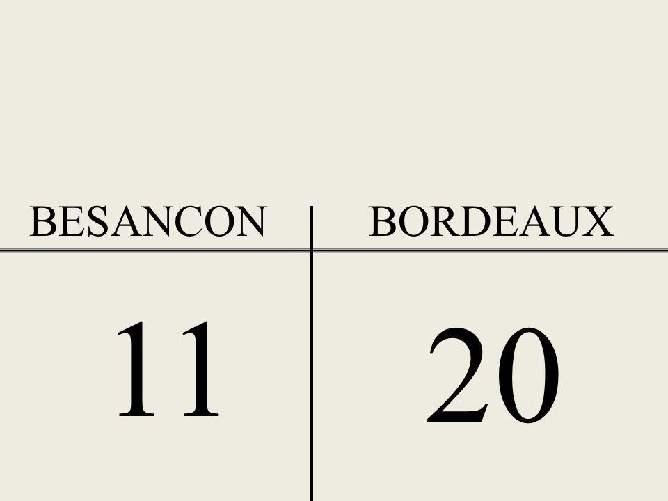 BESANCONBORDEAUX 7 15