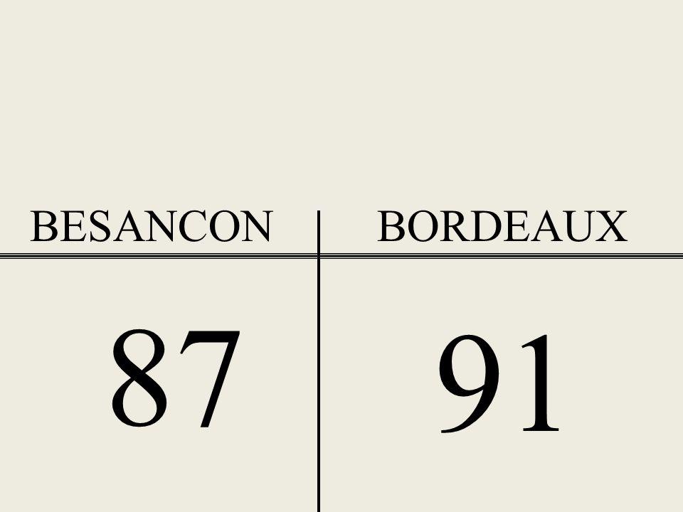BESANCONBORDEAUX 36 42