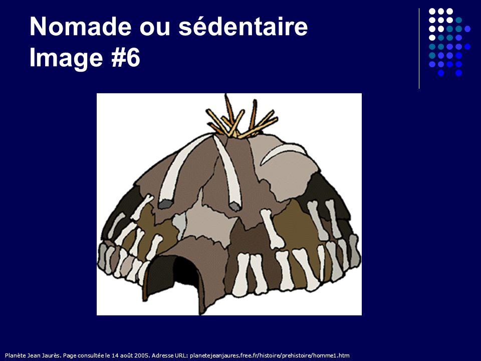 Nomade ou sédentaire Image #7 Préhisto; L Homme préhistorique.