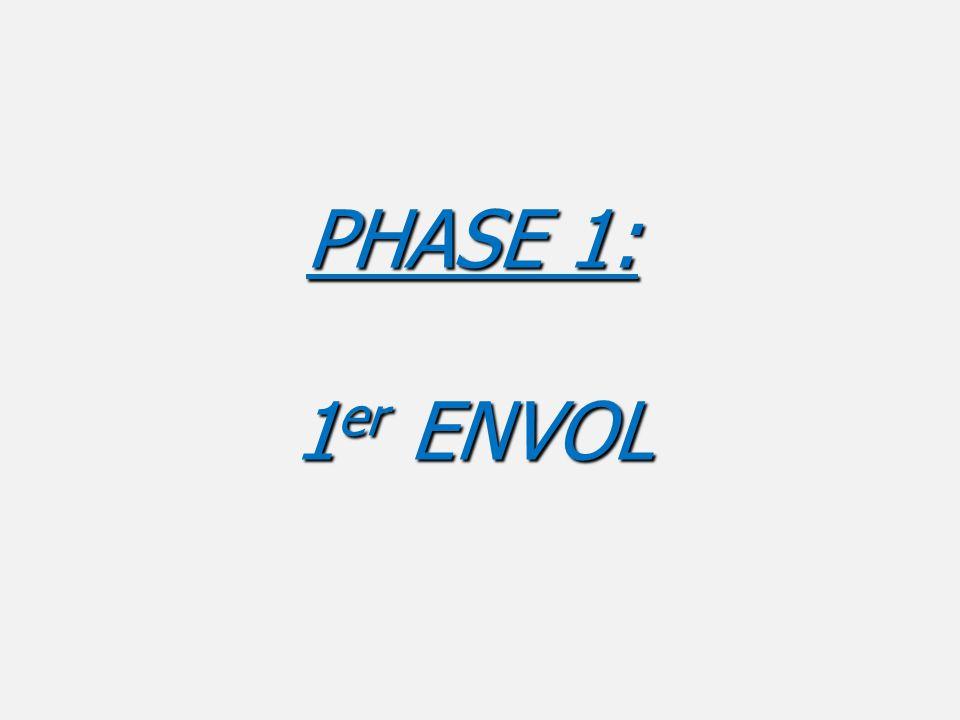 PHASE 1: 1 er ENVOL