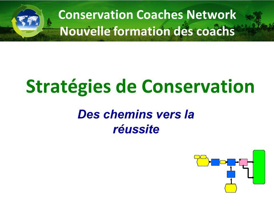 Stratégies de Conservation Des chemins vers la réussite Conservation Coaches Network Nouvelle formation des coachs