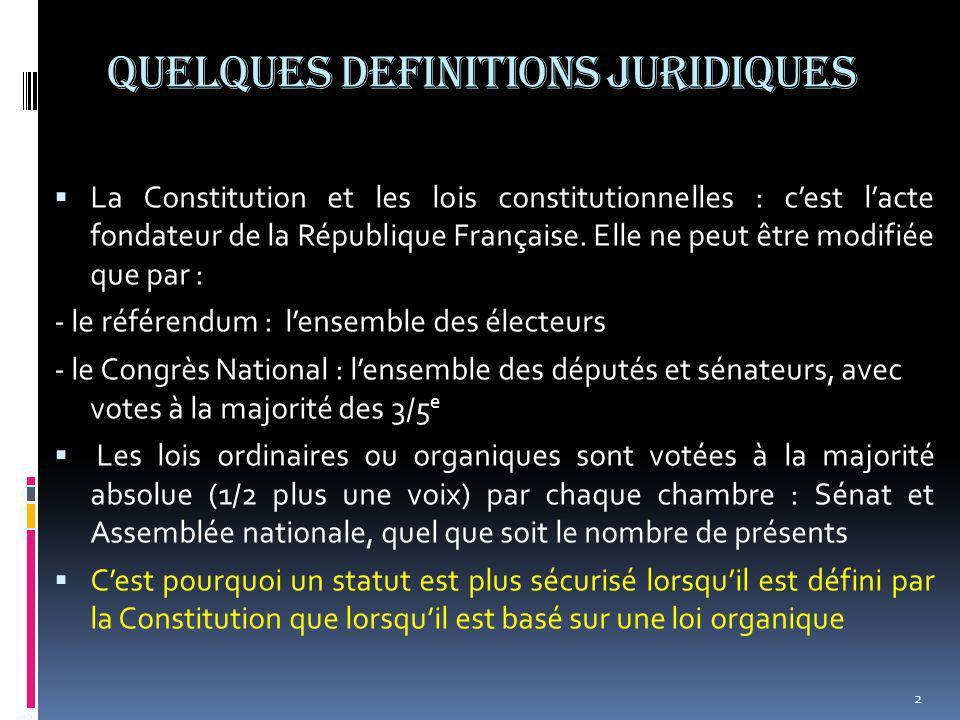 La com et l'Europe  Les lois nationales ne s'appliqueront plus de plein droit, mais la COM reste-elle dans l'Europe.