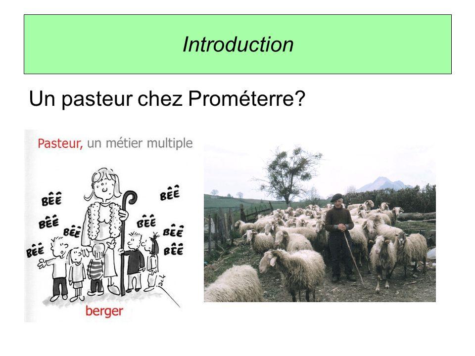 Introduction Prométerre: association de la promotion des métiers de la terre.