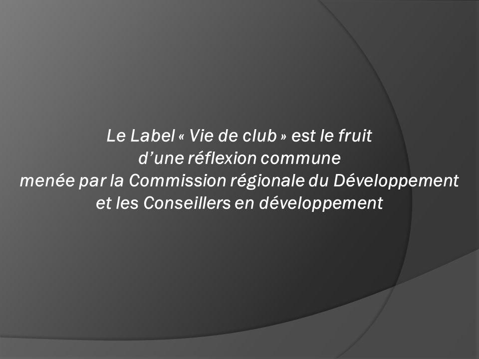  Donner une base de travail et des orientations aux clubs, des repères dans des domaines spécifiques du Développement et de l'Animation.