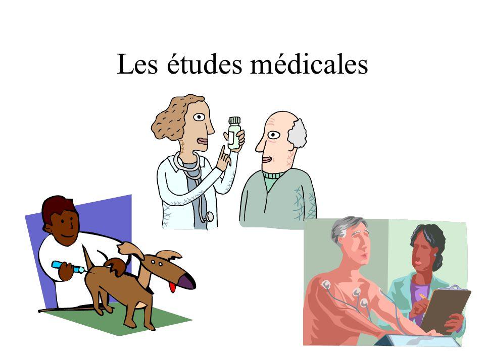 Les études médicales