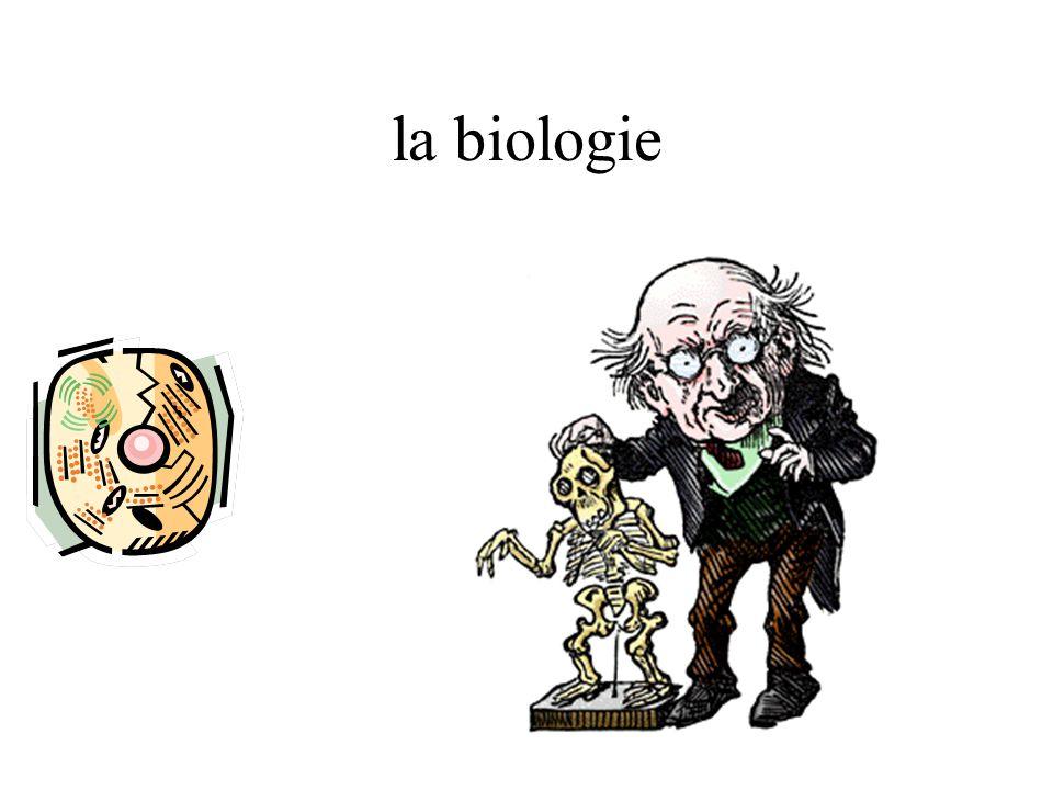 la biologie