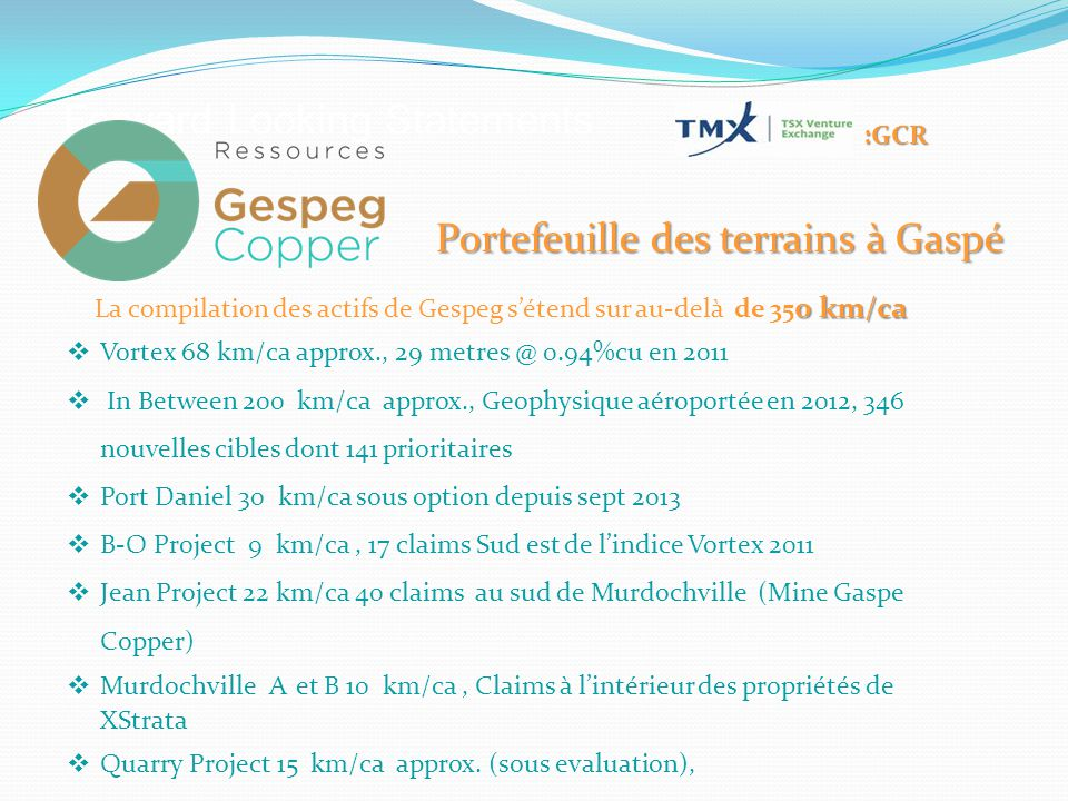 Pourquoi Gespeg Copper.