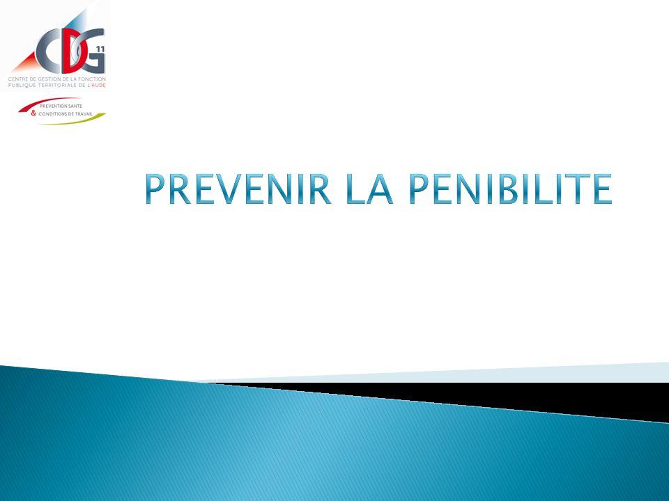  L'évaluation des facteurs de pénibilité (caractérisation et effectifs exposés) doit être retranscrite dans le Document Unique  Un plan d'action doit être associé
