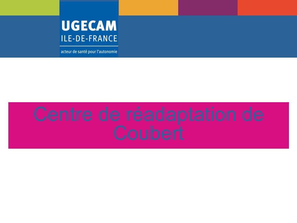 Centre de réadaptation de Coubert