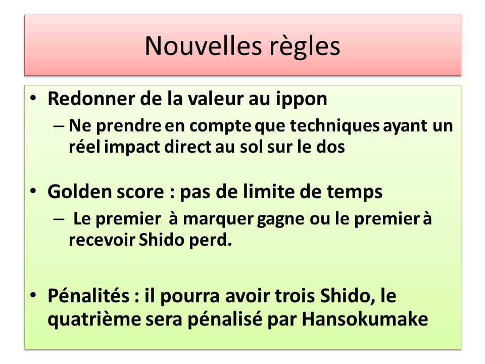 Nouvelles règles Seul les avantages techniques à partir du yuko sont affichés sur le tableau.