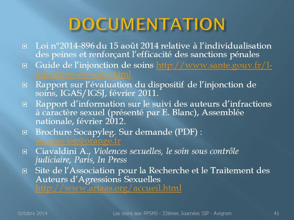  Loi n°2014-896 du 15 août 2014 relative à l'individualisation des peines et renforçant l'efficacité des sanctions pénales  Guide de l'injonction de